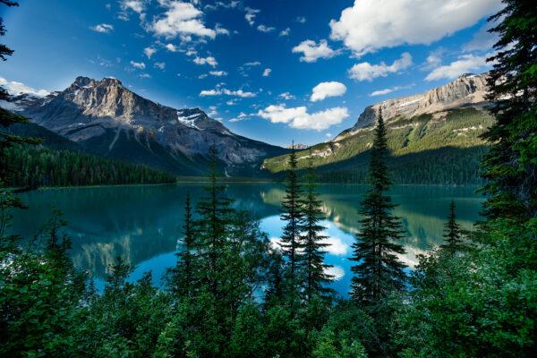 Kanada British Columbia Emerald Lake