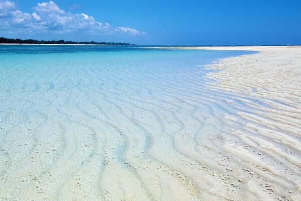 Kenia Diani Beach Sandstrand