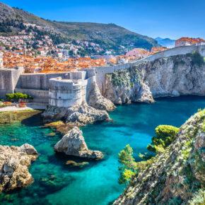 Game of Thrones hautnah erleben: 5 Tage in Dubrovnik in Kroatien mit tollem 3* Apartment und Flug nur 122€