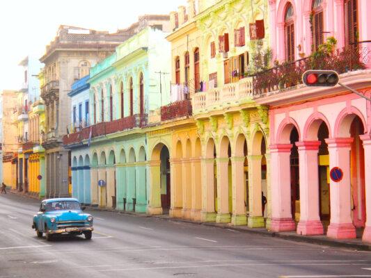 Kuba Havanna bunt