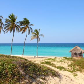 Karibik-Feeling: 7 Tage Luxus auf Kuba im 5* Strandhotel mit All Inclusive, Flug, Transfer & Zug nur 619€