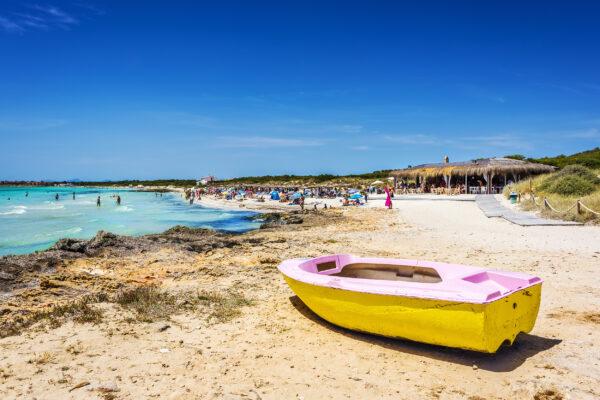 Mallorca Playa de Ses Covetes