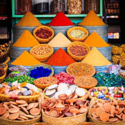 Marokko Marrakesch Gewürze