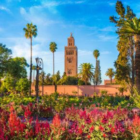 Marokko Kurztrip: 4 Tage im TOP Hotel in Marrakesch mit Frühstück, Flug & Transfer ab 179€