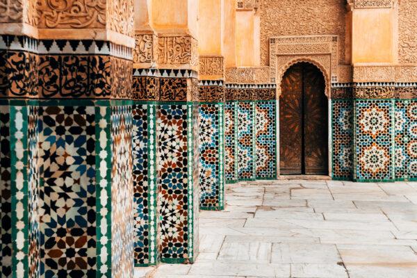 Marokko Ornament Fließen