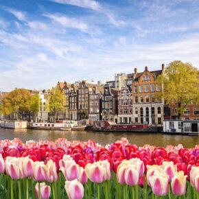 Kurztrip Amsterdam: 3 Tage im zentralen 3* Hotel mit Frühstück ab 49€