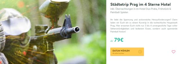 Paintball Prag
