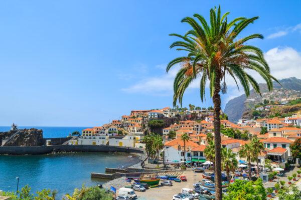 Portugal Madeira Hafen Camara de Lobos