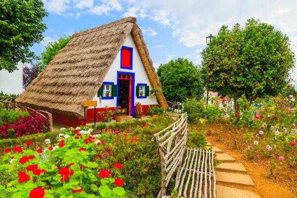 Portugal Madeira Santana Haus