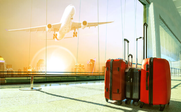 Reisegepäck Flughafen