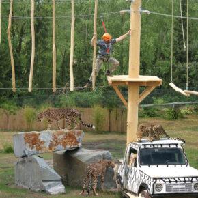 Safari Park Stukenbrock Hochseil
