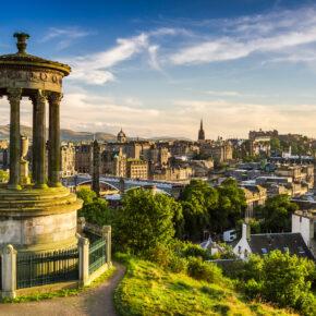 Schottland: Flüge nach Edinburgh nur 6€