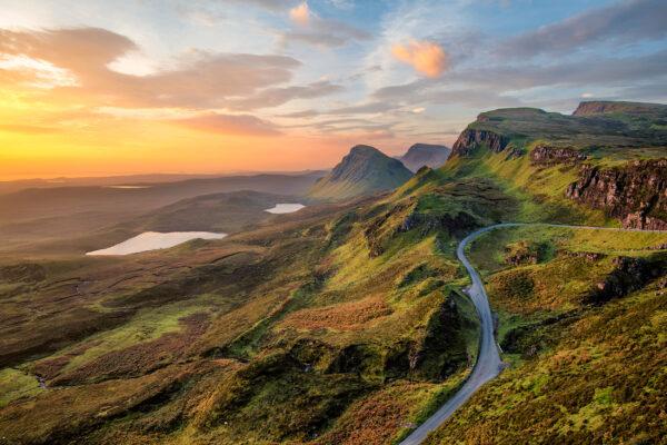Schottland Quirang isle of Skye