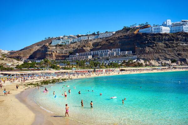 Spanien Gran Canaria Playa de Amadores