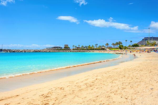 Spanien Gran Canaria Amadores Strand