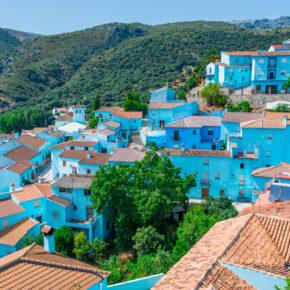 Schlumpfdorf in Spanien: 5 Tage Juzcar mit toller Unterkunft und Flug nur 133€