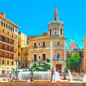 Kurztrip Spanien: 3 Tage Valencia in zentralem TOP 3.5* Hotel mit Flug nur 91€