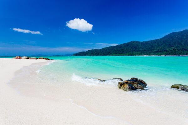 Thailand Koh Lipe Strand Steine