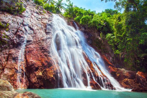 Thailand Kph Samui Na Muang Wasserfall