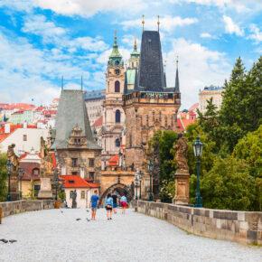 Winterzauber Hotelgutschein: 3 Tage Prag im zentralen TOP 4* Award Hotel inkl. Frühstück für 54,99€