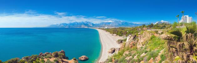 Türkei Antalya Konyaalti Strand