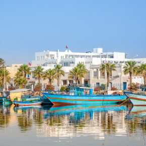 Tunesien All Inclusive: 7 Tage im TOP 4.5* Hotel mit Flug, Transfer & Zug nur 325€