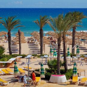 Familienurlaub Sommerferien: 7 Tage Tunesien im 4* Hotel mit All Inclusive, Flug, Transfer & Zug nur 444€