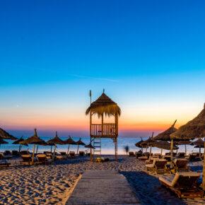 Tunesien in den Sommerferien: 7 Tage im 4* Hotel mit All Inclusive, Flug, Transfer & Zug nur 373€