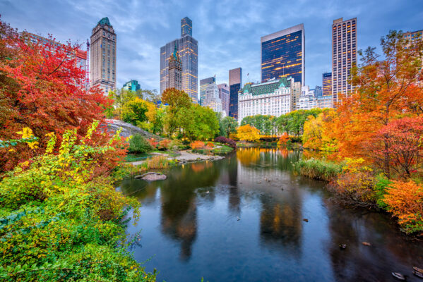 USA New York Central Park Hebst