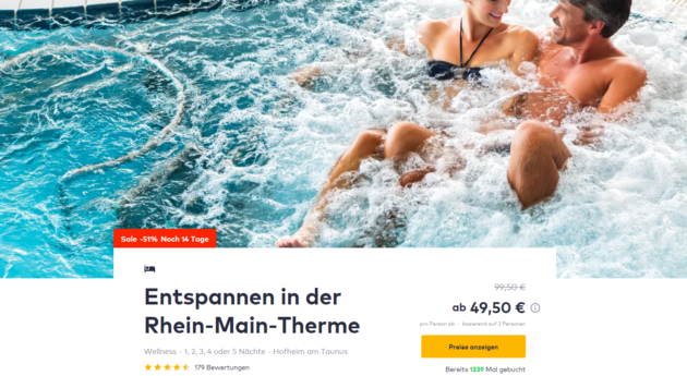 2 Tage Therme