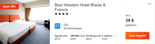 3 Tage Mailand Hotel