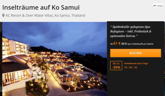 8 Tage Thailand