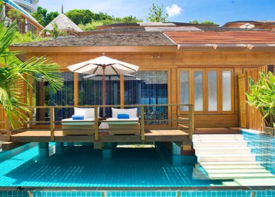KC Resort & Over Water Villas Pool