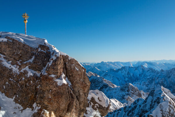 Alpen Zugspitze Kreuz