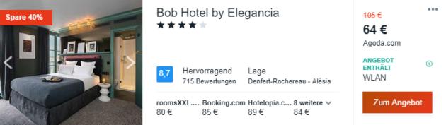 Bob Hotel Deal