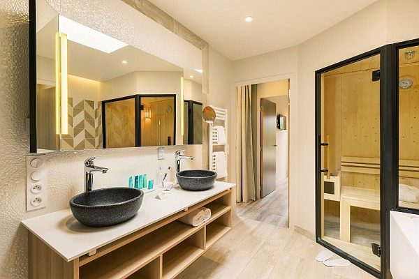 Center Parcs Allgäu Exclusive Badezimmer