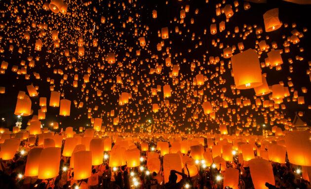 Chiang Mai Yee Peng Fest
