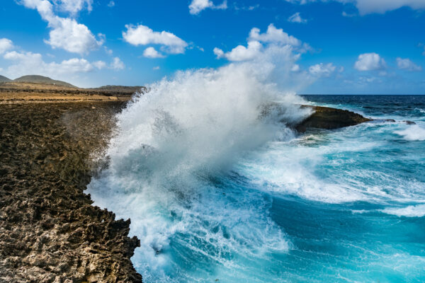 Curacao Shete Boka Nationalpark Wellen