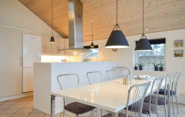 Dänemark Bogens Strand Strandhaus Essbereich