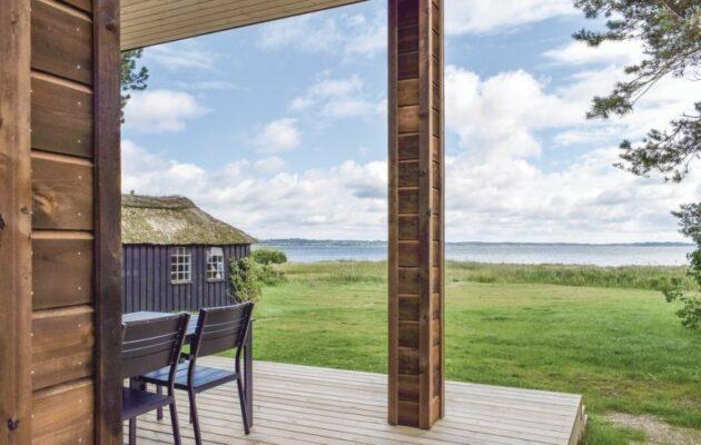 Dänemark Bogens Strand Strandhaus Garten
