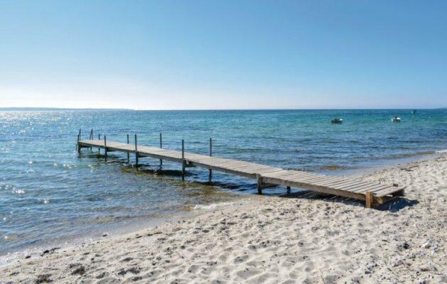 Dänemark Bogens Strand Strandhaus Strand