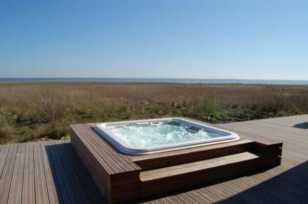 Dänemark Römö Strandhaus Whirlpool