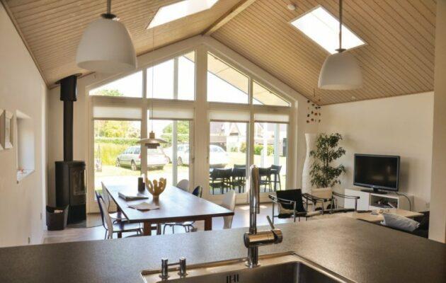 Dänemark Torreso Strand Stradhaus Wohnzimmer