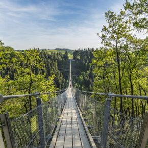 Hängeseilbrücke Geierlay am Rhein: 3 Tage bei Koblenz im 3* Hotel mit Halbpension für 60€