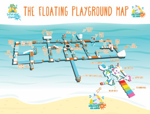 Einhorninsel Map