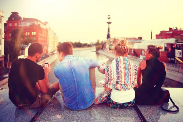 Freunde Städtetrip