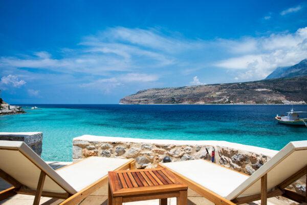 Griechenland Peloponnese Liegen