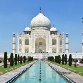 Indien Agra Taj Mahal