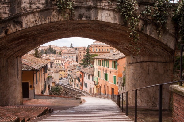 Italien Perugia Acqueduct