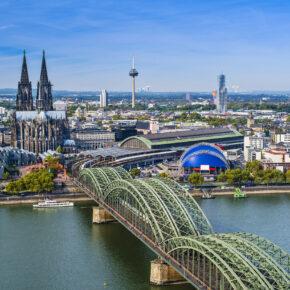 Wochenende in Köln: 2 Tage Städtetrip im guten Hotel mit Frühstück für 42€